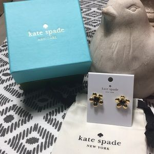 Kate Spade Spring Bloom Studs - NIB & Dust Bag